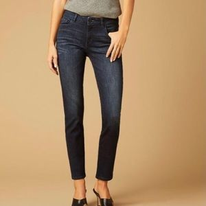 DL1961 Blue Angel Mid Rise Skinny Ankle Jeans